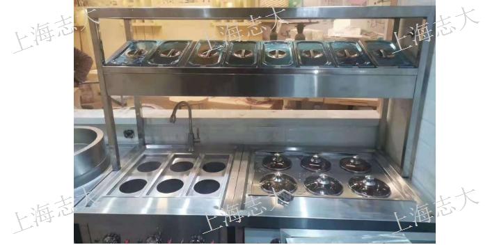 寶山區大型不銹鋼制品炒菜機 誠信為本「上海志大廚房設備供應」
