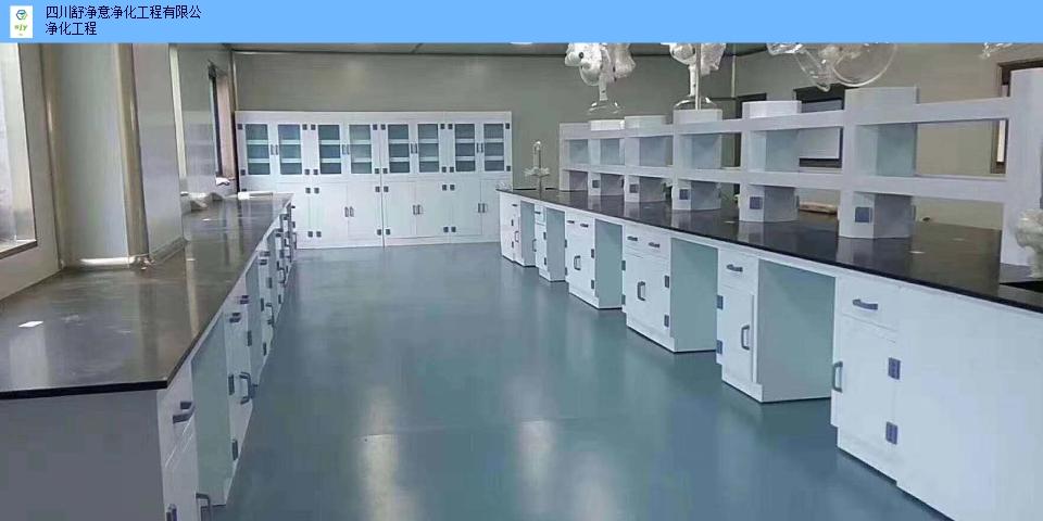 西北藥廠實驗室裝修工程服務 和諧共贏 四川舒凈意凈化工程供應