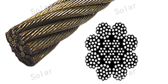 安徽6x25Fi+FC钢丝绳镀锌 钢丝绳「索乐供」