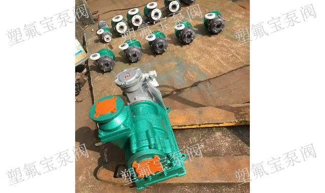 江苏小流量氟塑料磁力泵