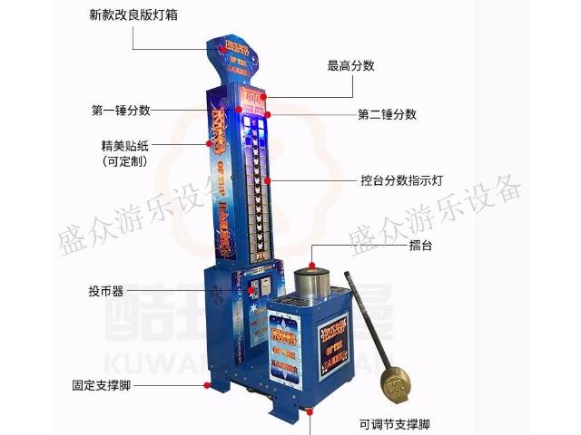奉賢區simfreeplay大力錘 誠信服務「上海盛眾游樂設備供應」