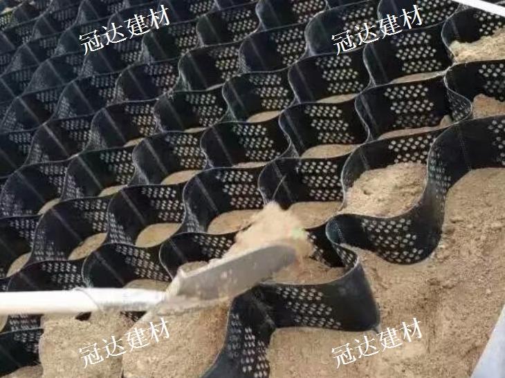 泰安土工格室厂家 山东冠达建材供应