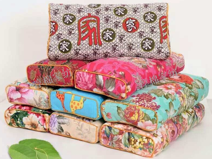 仙桃纯棉枕头 高密淳棉家纺供应