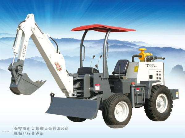 陇南回转挖掘机 泰安市山立机械设备供应