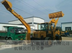 山东半液压挖机 泰安市山立机械设备供应