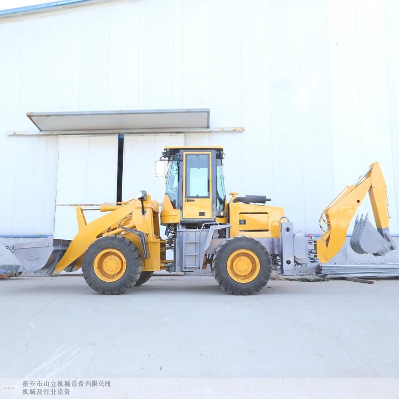 宁夏铲挖一体机多少钱 泰安市山立机械设备供应