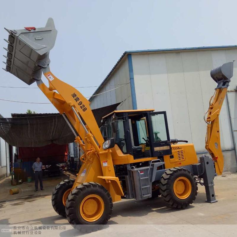 通辽全回转铲挖一体机 泰安市山立机械设备供应