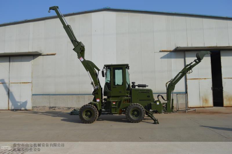 吉安小型铲挖一体机 泰安市山立机械设备供应