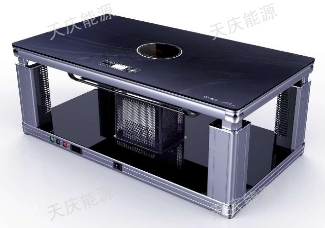 昆明火鍋店取暖圓桌「貴州天慶能源供應」