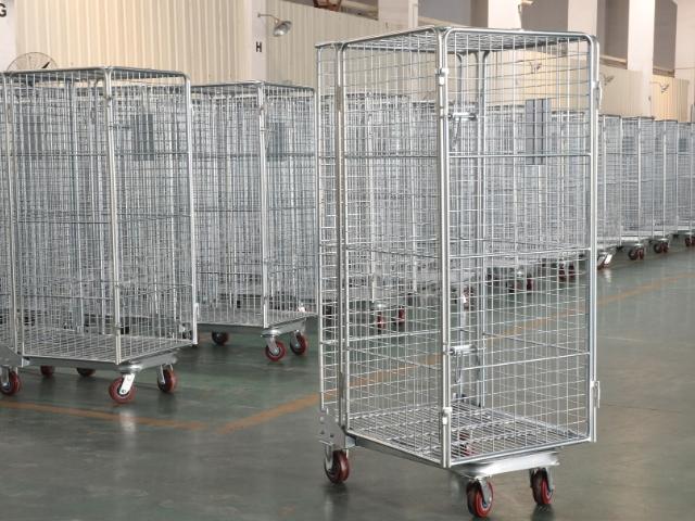 常州物流笼车来电咨询 来电咨询「常熟通润物流设备供应」