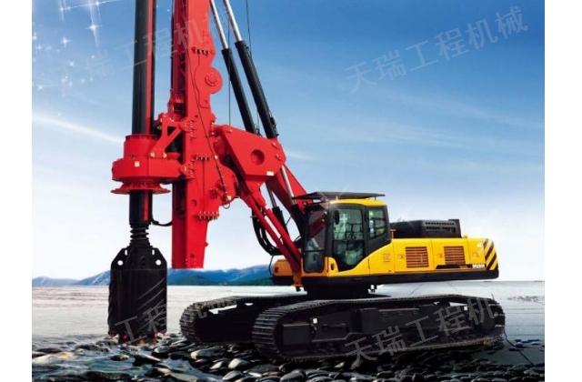 曲靖液压钻机租赁 值得信赖 云南天瑞工程机械供应