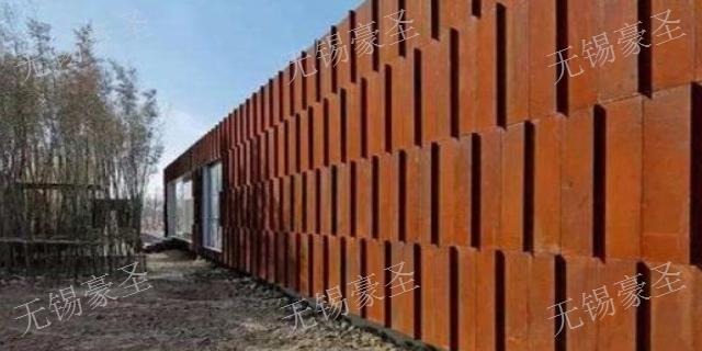 江苏红锈板幕墙,红锈板