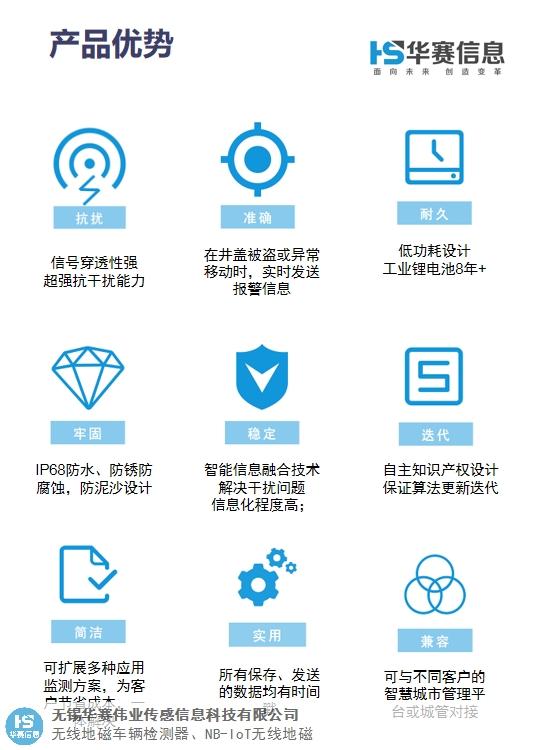 云南NB-IOT地磁廠家 來電咨詢 無錫華賽偉業傳感信息科技供應