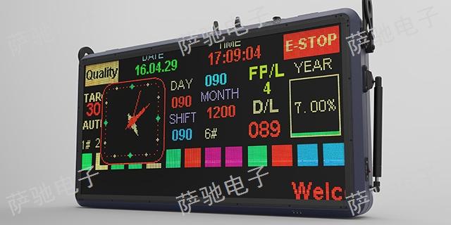 河南Andon电子看板可量尺定做 欢迎咨询 萨驰电气供应