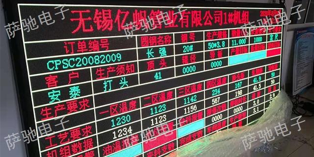 衢州显示屏价位 有口皆碑 萨驰电气供应