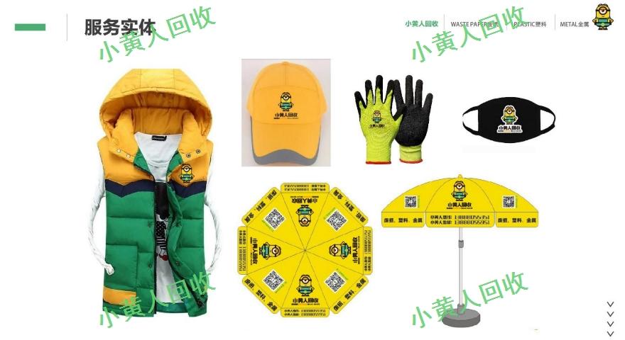 昆明物资回收平台加盟 小黄人废纸废品回收加盟供应