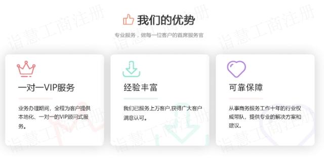 江苏工商注册办理 诚信互利「苏州诣慧信息技术供应」