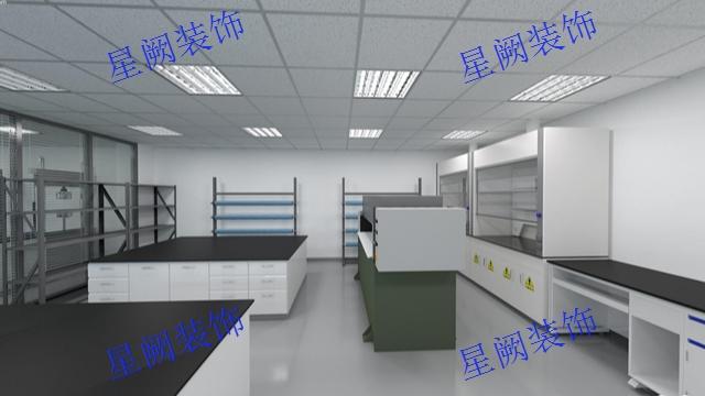 上海實驗室裝修設計方案 上海星闕裝飾工程供應