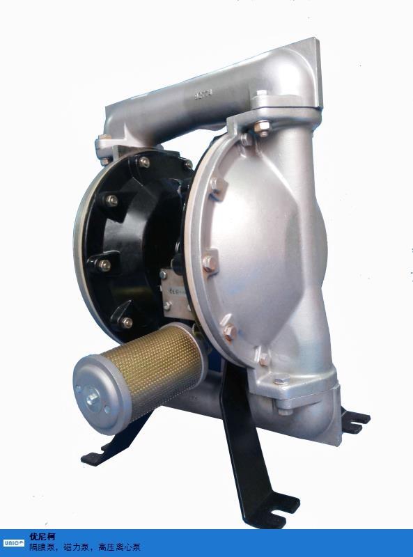 宿迁橡胶球座气动隔膜泵 值得信赖 优尼柯环保设备供应