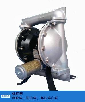 宿迁铸钢气动隔膜泵 诚信服务 优尼柯环保设备供应