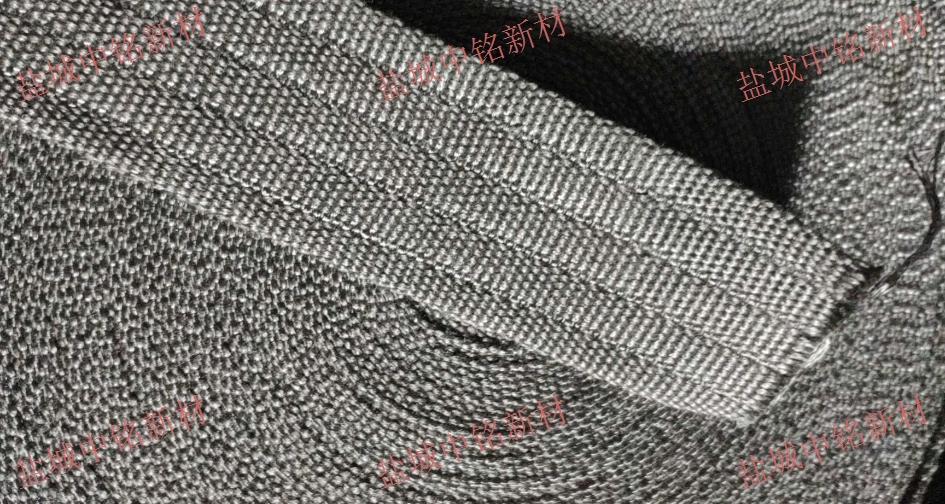 上海地区耐高温金属布机制带 诚信服务 盐城中铭新材料供应