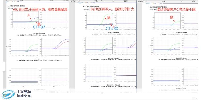 苏州STR鉴定标准「上海翼和应用生物供应」