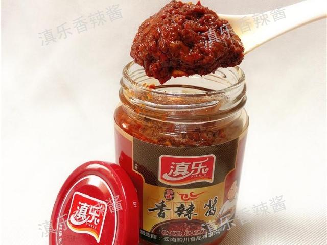 貴州紙桶香辣醬 云南滇樂調味品供應