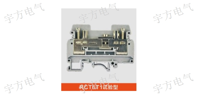上海NEK4RD GY 熔断器型接线端子 RST弹片直通式接线端子排 诚信经营「宇方供」