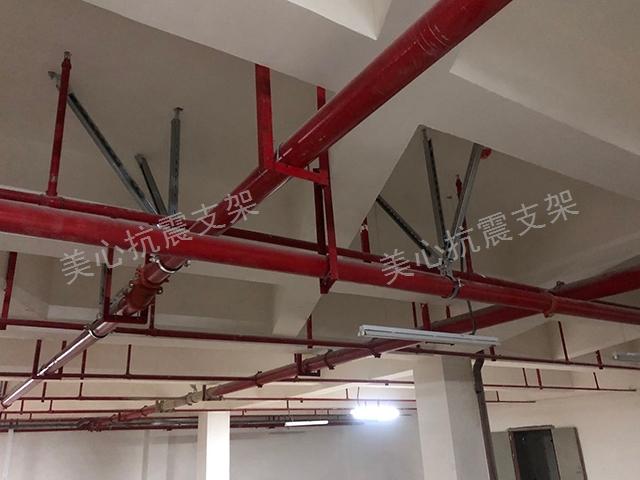 红河管道抗震支架安装,抗震支架