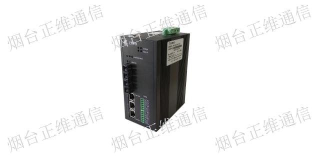 深圳导轨式工业交换机性能 工业交换机「烟台市正维通信技术供应」