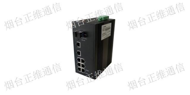 蘇州工業光纖收發器哪家好 串口轉以太 煙臺市正維通信技術供應