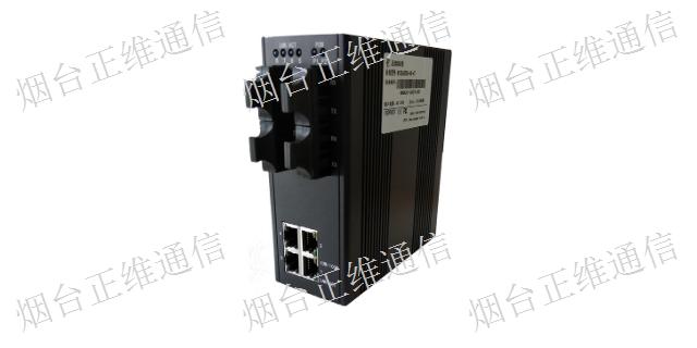 上海单模光纤收发器优点 工业交换机 烟台市正维通信技术供应
