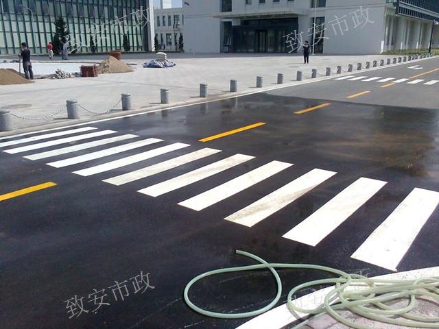 云南热熔交通标线施工公司哪家好 昆明致安市政工程供应