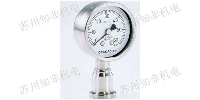 上海膜片压力表型号
