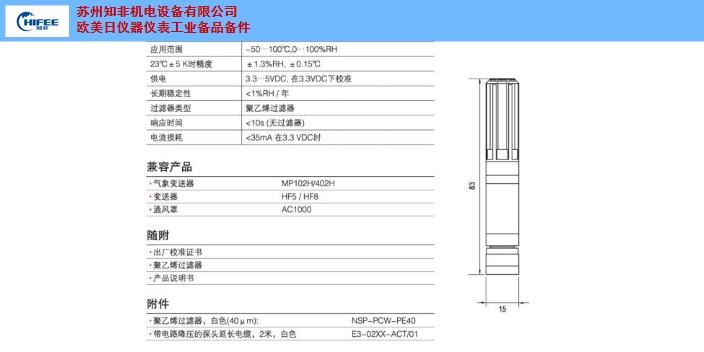 南京ROTRONIC辦事處二氧化碳CO2傳感器什么價格 信息推薦 蘇州知非機電設備供應