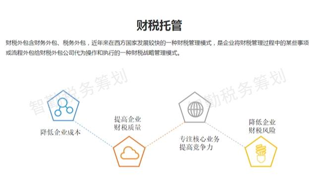 財務稅務籌劃服務「云南智勤稅務師事務所供應」