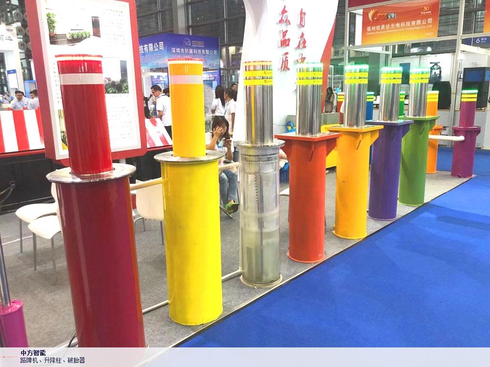 广西防撞柱生产厂家 深圳市中方智能供应