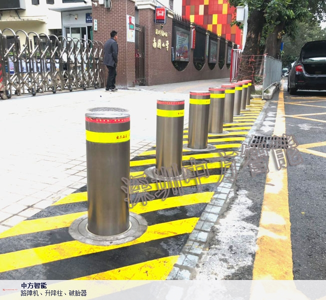 浙江升降路障哪个厂家质量好 深圳市中方智能供应