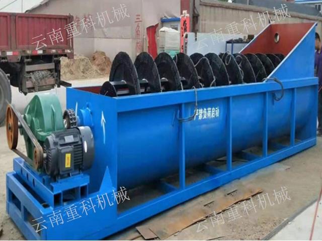 云南昆明双螺旋洗砂机报价 值得信赖 云南重科机械设备供应