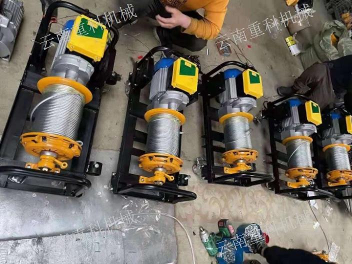 云南建筑小吊機廠家電話 云南重科機械設備供應