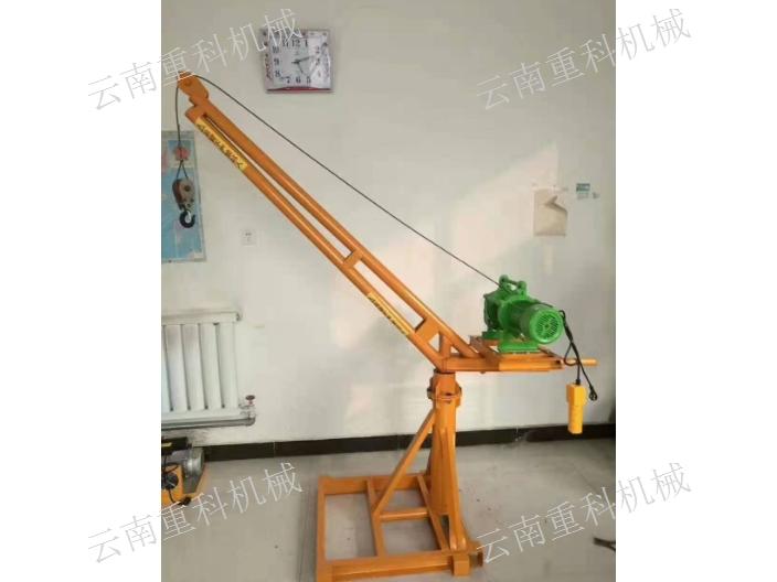 云南小型建筑小吊机多少钱一台 云南重科机械设备供应