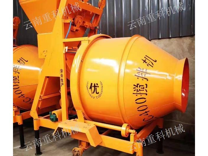 云南滚筒搅拌机一般多少钱 云南重科机械设备供应
