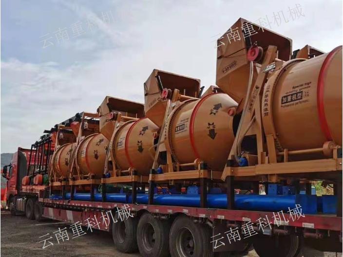 昆明卧式搅拌机厂家 云南重科机械设备供应