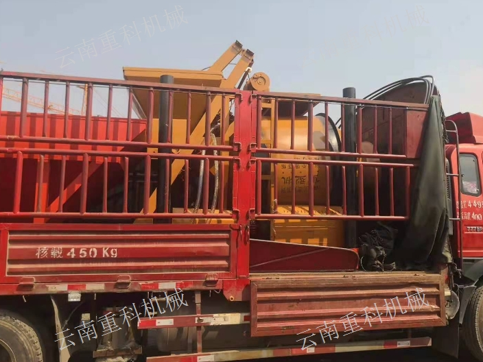 昆明混凝土搅拌机生产厂家 云南重科机械设备供应
