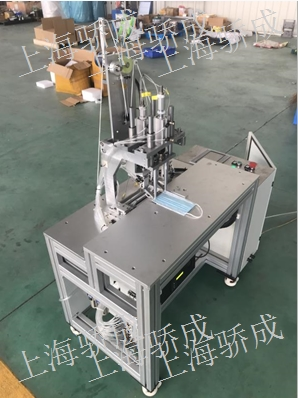 提供上海市KN95耳带半自动焊接机现货多少钱骄成供